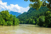 River Lech — Stock Photo