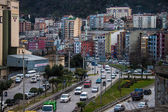 Road traffic in Trabzon — Stock Photo