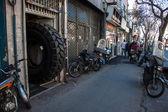 View of a street in Tehran — Foto de Stock