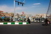 Traffic on Imam Khomeini square — Foto de Stock