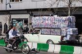 一条街的交通 — 图库照片