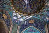 Techo del principal bazar de teherán — Foto de Stock