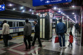 View of metro station in Tehran — Stock Photo