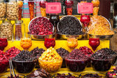 Dried fruit for sale — Stock Photo
