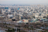 Aerial view of Mashhad — Stock Photo