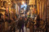 People in bazaar in Shiraz — Stock Photo