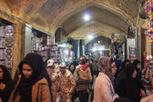 Gente en bazar — Foto de Stock