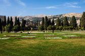 Jahan Nama garden in Shiraz — Stock Photo