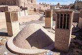 цистерна для воды в пустыне город naein — Стоковое фото