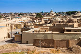 Panorama of desert town Naein — Stock Photo