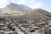 Aerial view of Khorramabad — Stock Photo