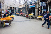Local fruit market in Khorramabad — Stock Photo