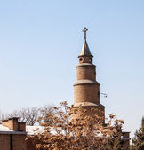Tower of Anglican Church in Tabriz — Stock Photo