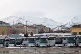bus station in Erzurum — Stock Photo