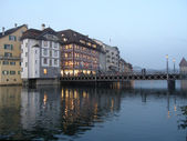 Evening in Luzern — Stock Photo