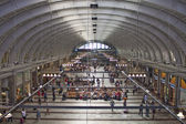 Commuters on Centrail Station in Stockholm — Stock Photo