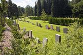 Cementerio en nykoping — Foto de Stock