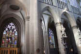 Interior of St. Michael and St. Gudula Cathedral — Stock Photo