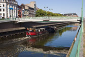 Charleroi-Brussels canal — Stock Photo