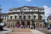 La Scala in Milano — Stock Photo