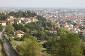 Aerial view of Bergamo — Stock Photo
