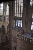 Interior of St. Vitus Cathedral — Stock Photo