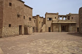 Village in a movie stage in Ouarzazate — Stockfoto