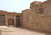 Ancient town in a movie stage in Ouarzazate — Stock Photo