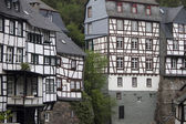 Historical houses in Monschau — Stock Photo