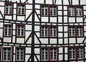 Detail of typical half timbered house — Stock Photo