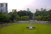 Park in front of Reunification Palace — Stock Photo