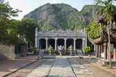 Buddhist temple in countryside — Stock Photo