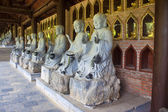 Buddha images in Bai Dinh temple — Stock Photo