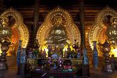Golden Buddha images — Stock Photo