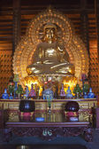 Golden Buddha image — Photo