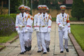 Changing guards at Ho Chi Minh mausoleum  — Foto de Stock