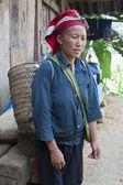 Red Dzao Ethnic Minority — Stock Photo