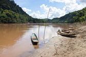 Nam Ou river — Stock Photo