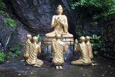 Buddha statues in Luang Prabang — Stock Photo