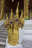 Decoration of temple Haw Pha Bang — ストック写真