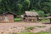 Village in Laos — Stock Photo