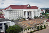 Buildings in Vientiane — Stock fotografie