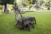 Buddha Park, Vientiane — Stock Photo