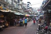 čínská čtvrť v bangkoku — Stock fotografie