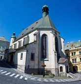 St. Katharine church in Banska Stiavnica — Foto de Stock
