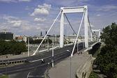 Erzsebet bridge in Budapest — Stock Photo