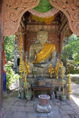 Buddha statue in complex of Angkor temples — Stockfoto