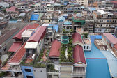 Aerial view of Pnom Penh — Stock Photo