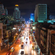 Traffic jam in Bangkok — Stock Photo #44305071