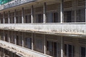 Cell in Tuol Sleng  (S21) Priso — Stock Photo